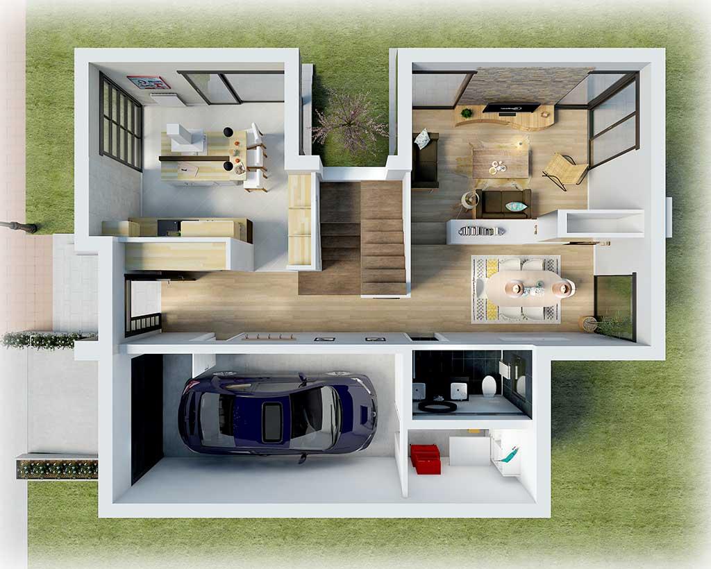 Diseño Construccion REIX Planta Baja