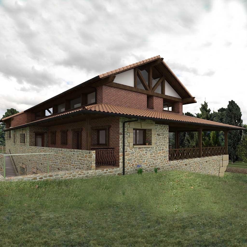 Diseño construccion casa ASTEM 1