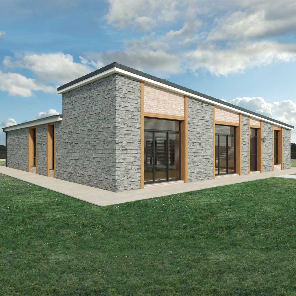 Diseño construccion casa YENKAME 1
