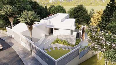 Proyecto construccion casa moderna a2