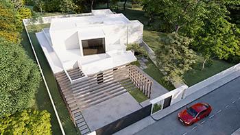 Diseño construir casa moderna 2