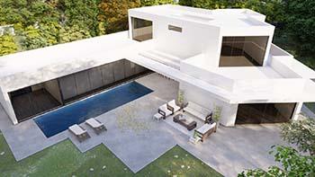 Diseño construir casa moderna 5