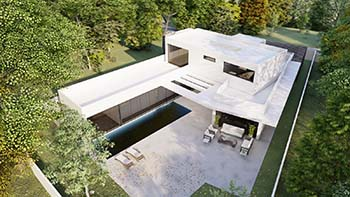 Diseño construir casa moderna 6