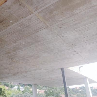 14 estructura hormigon casa Torrelodones