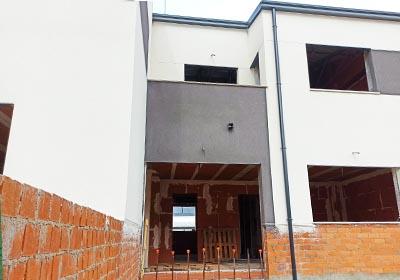 Proyecto construccion chalets adosados